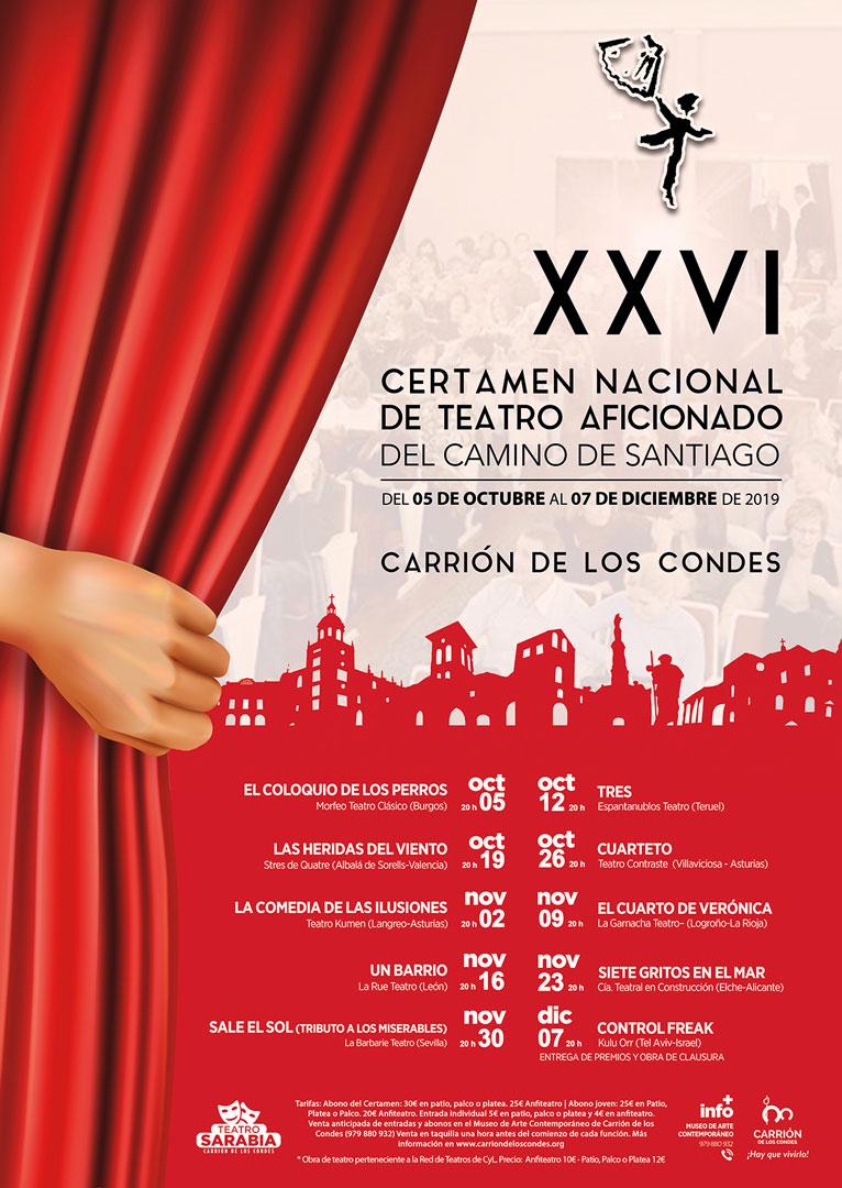 XXVI Certamen Nacional de Teatro Aficionado del Camino de Santiago