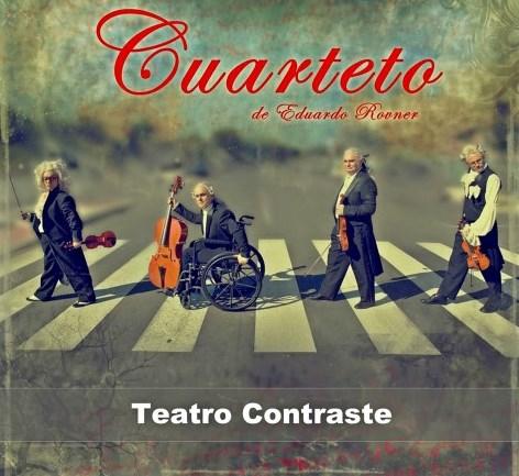 CUARTETO - Teatro Contraste (Villaviciosa - Asturias) - 26 de Octubre