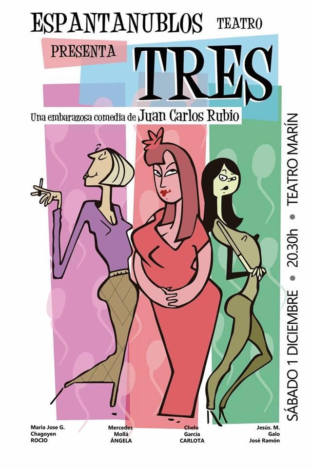 TRES - Espantanublos Teatro (Teruel) - Sábado 12 de octubre – 20:00 h.