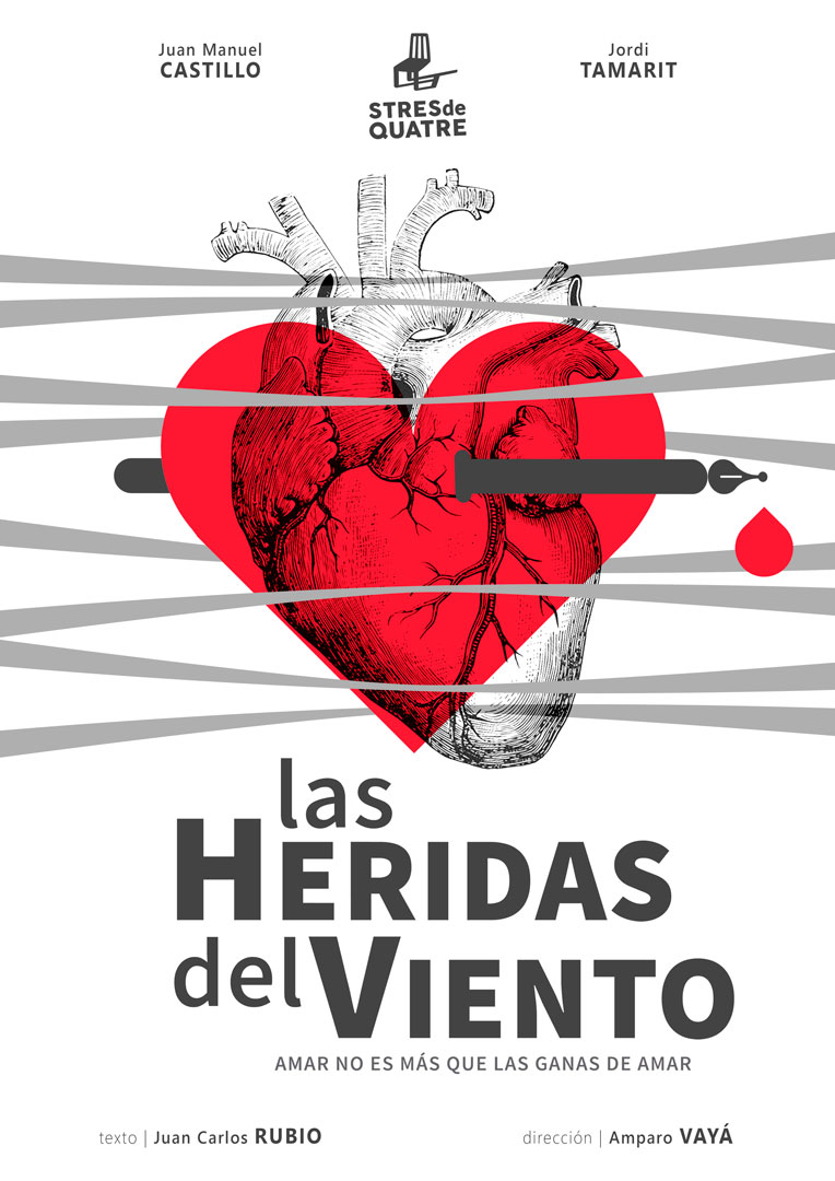 Sábado 19 de octubre – 20:00 h. LAS HERIDAS DEL VIENTO - Stres de Quatre (Albalá de Sorells-Valencia)