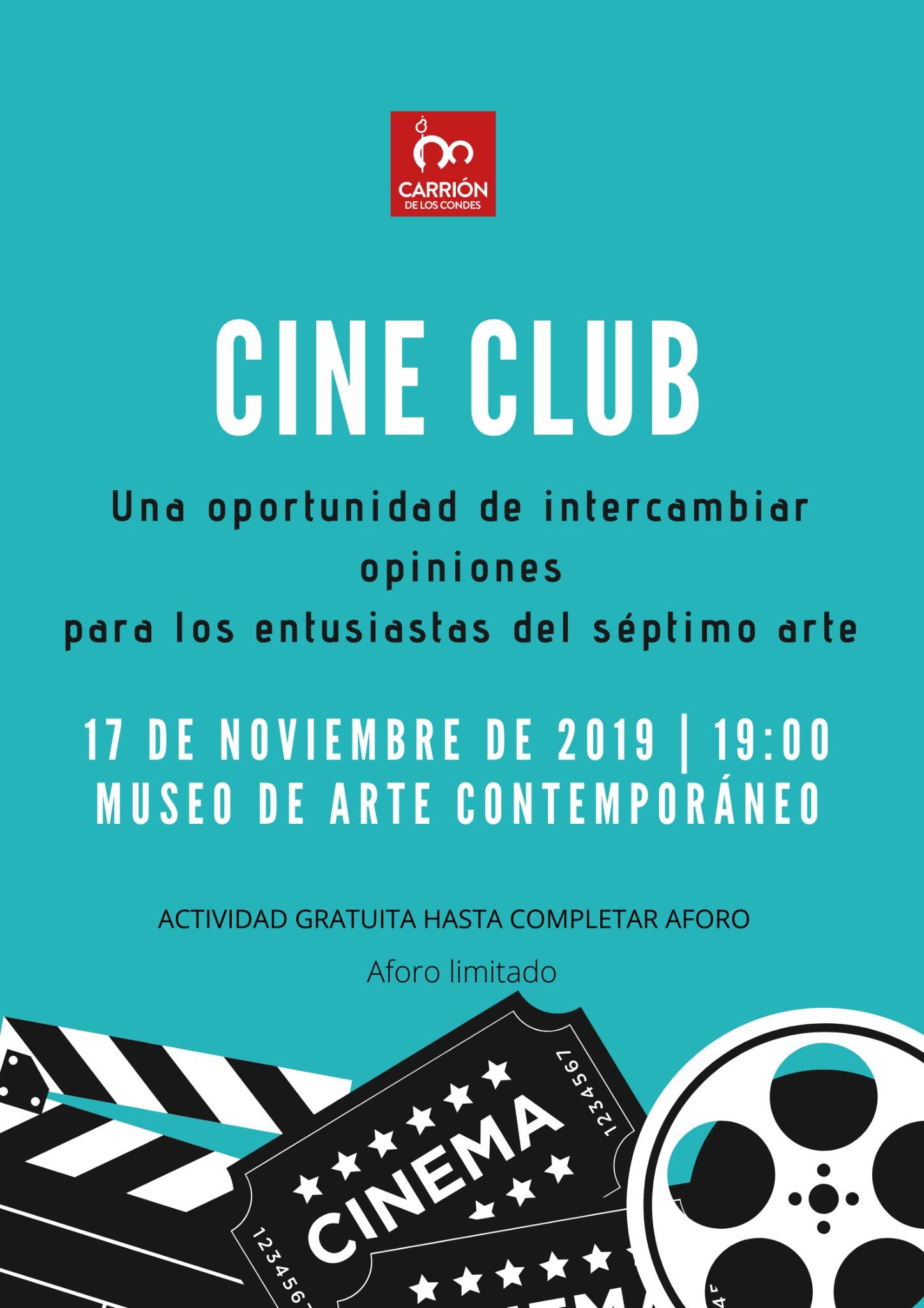 CINE CLUB en Carrión de los Condes