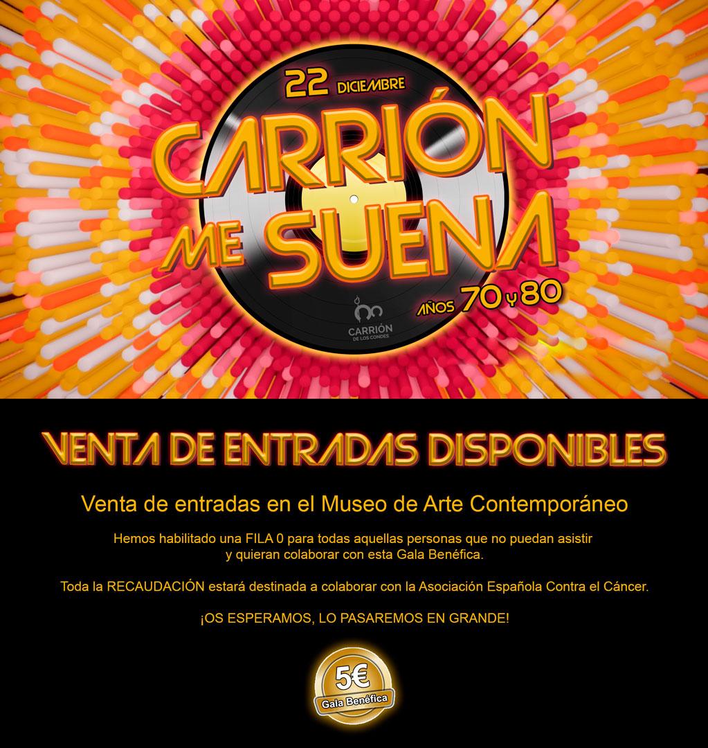 CARRIÓN ME SUENA - Domingo 22 de diciembre en el Teatro Sarabia - GALA BENÉFICA
