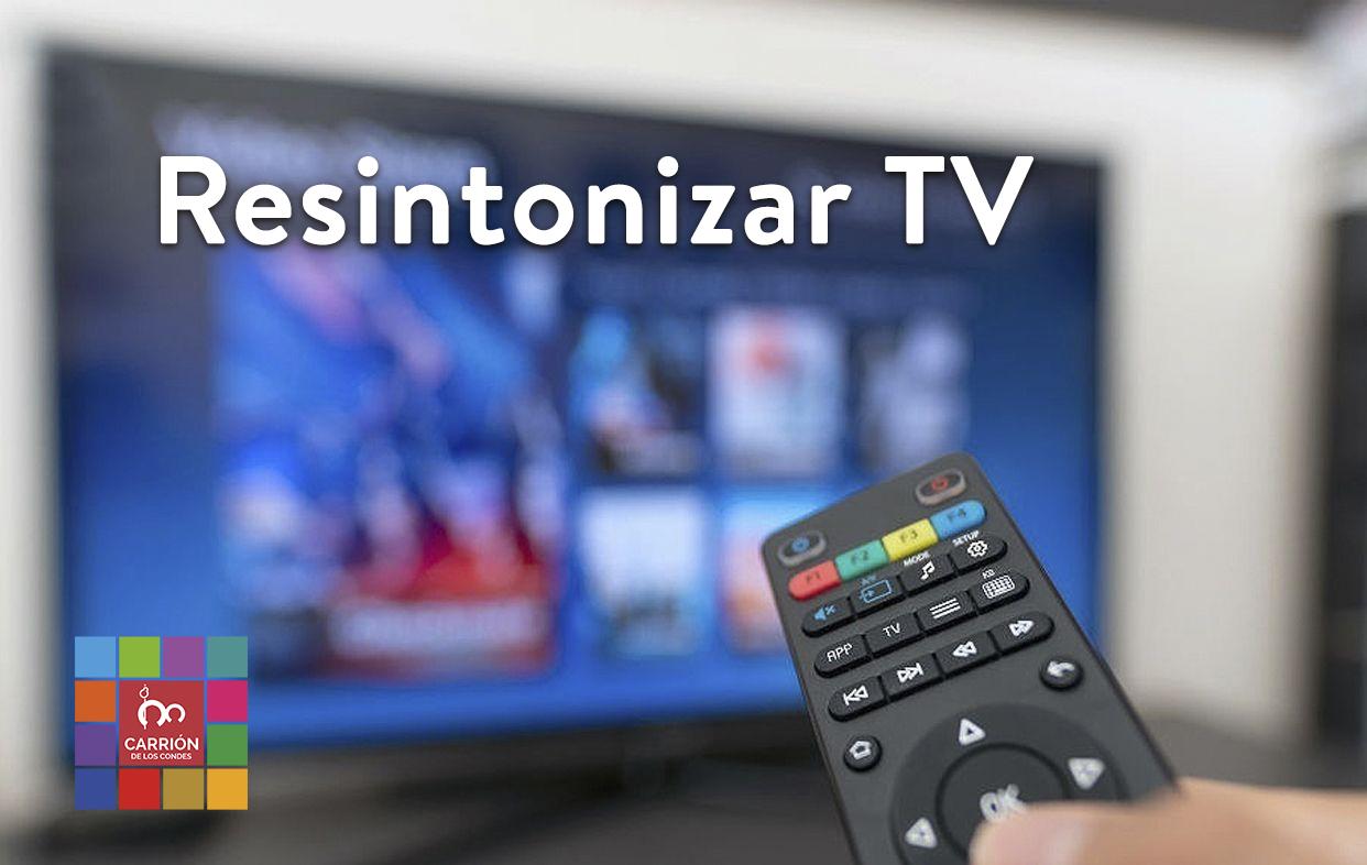 Cambio de la frecuencia de emisión de algunos canales de televisión