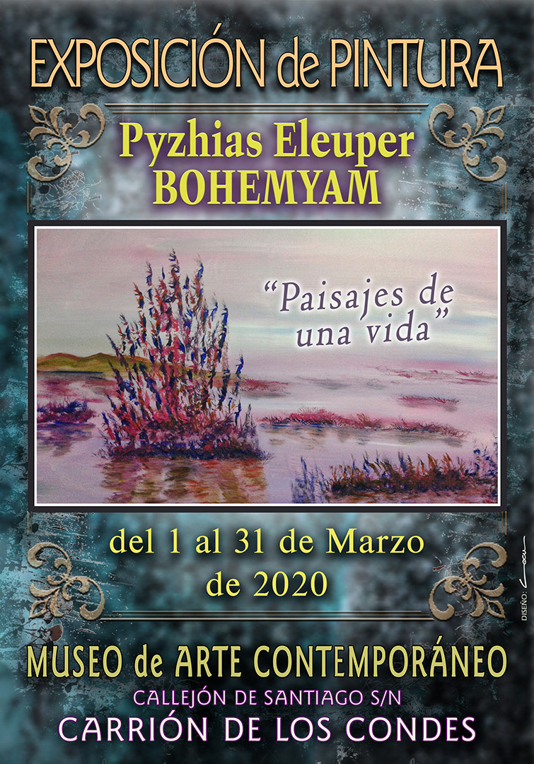 Exposición de pintura MES DE MARZO