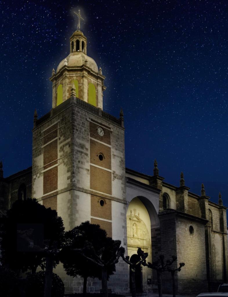 Renovación de la iluminación ornamental de los monumentos más representativos de Carrión de los Condes