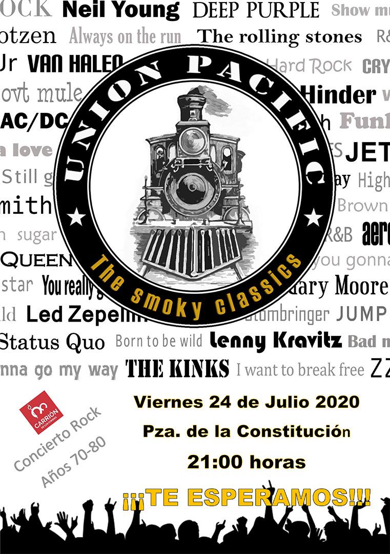 Concierto Rock de UNION PACIFIC