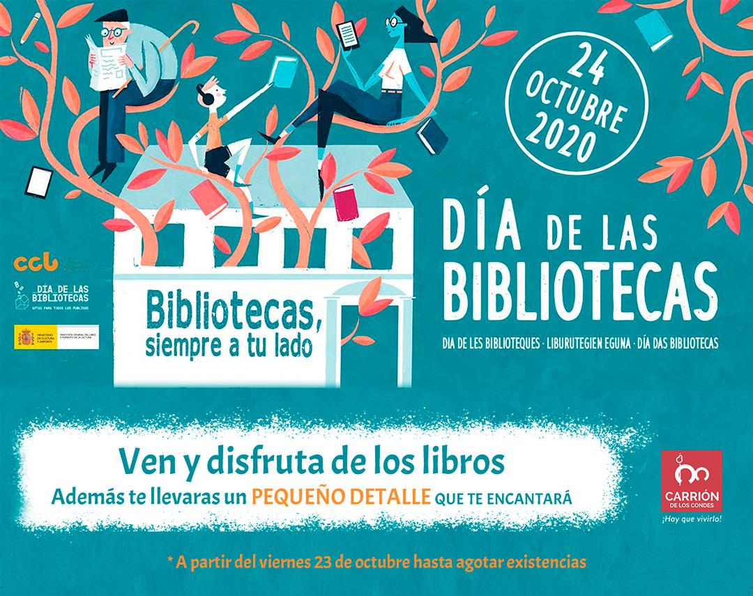 Bibliotecas, siempre a tu lado - 24 de octubre 2020