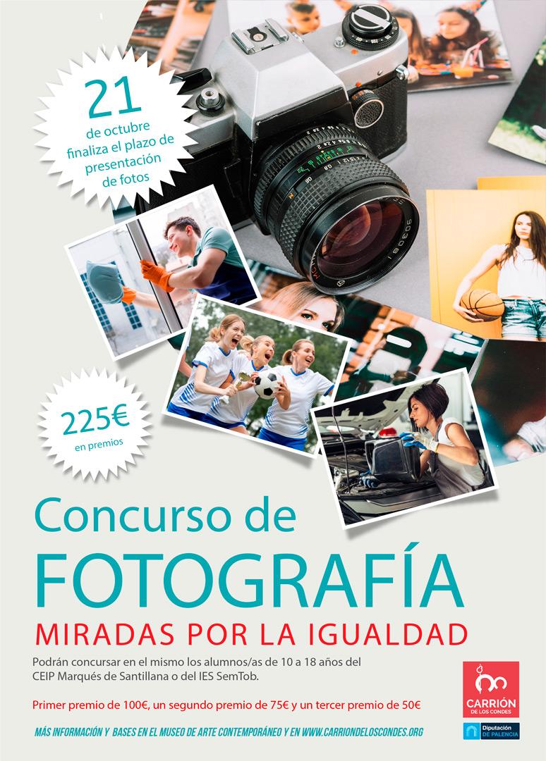 Concurso de fotografía Miradas por la igualdad
