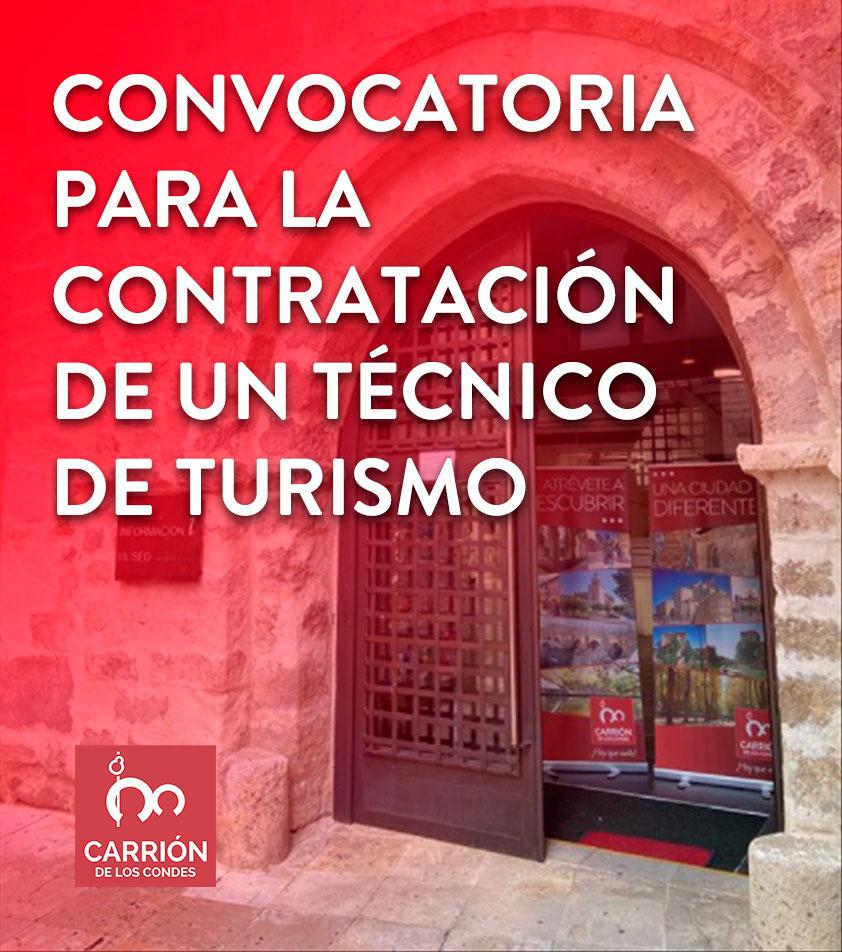 Convocatoria para la contratación de un Técnico de Turismo