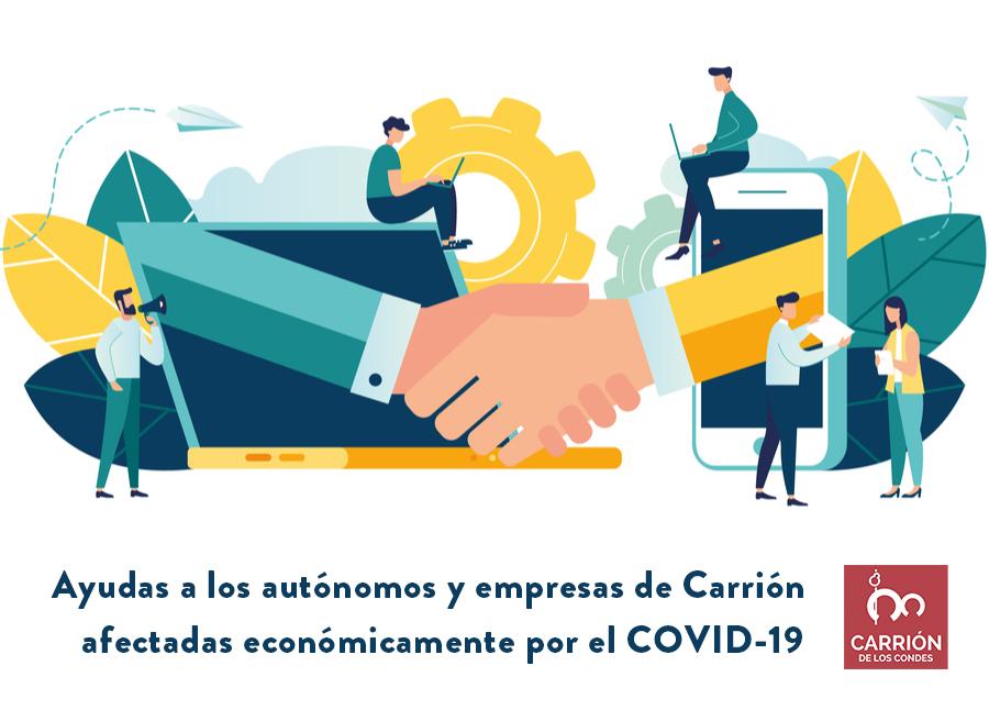 Ayudas a los autónomos y empresas de Carrión afectadas económicamente por el COVID-19