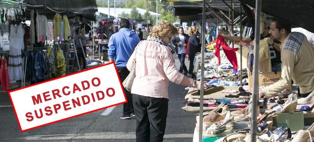 Se suspende el mercado semanal de los jueves