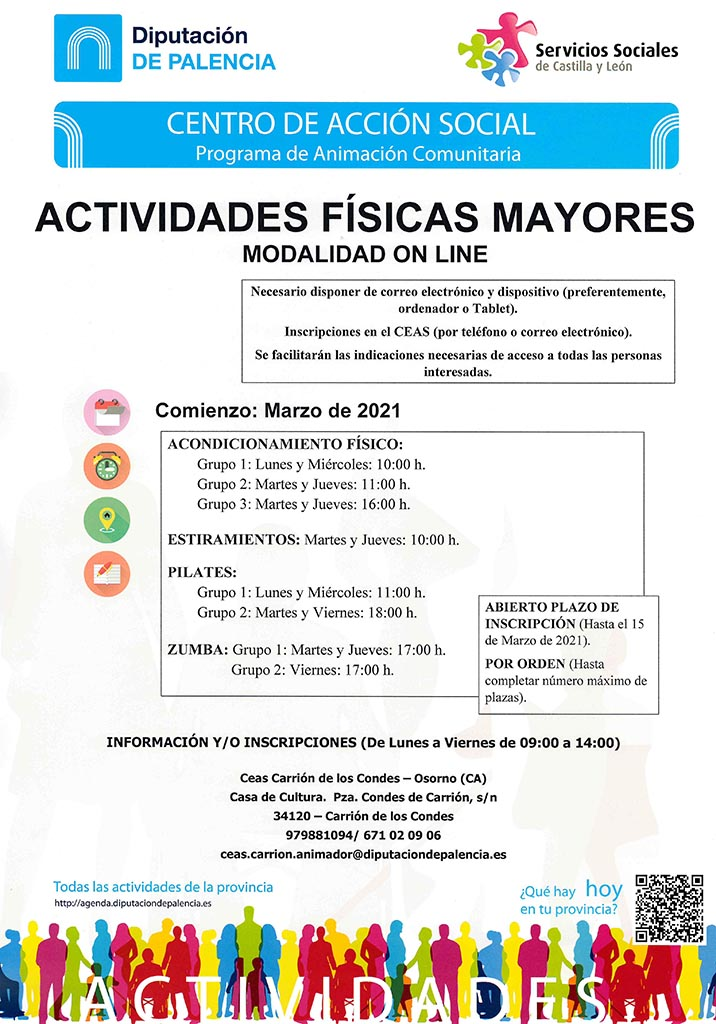 Actividades Físicas para Mayores