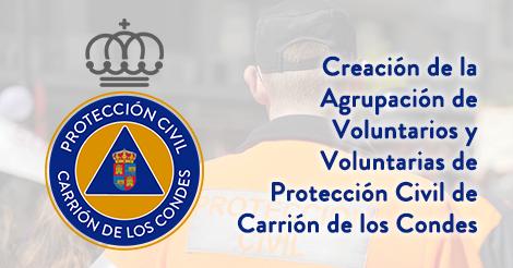 Hazte Voluntario o Voluntaria de Protección Civil en Carrión de los Condes
