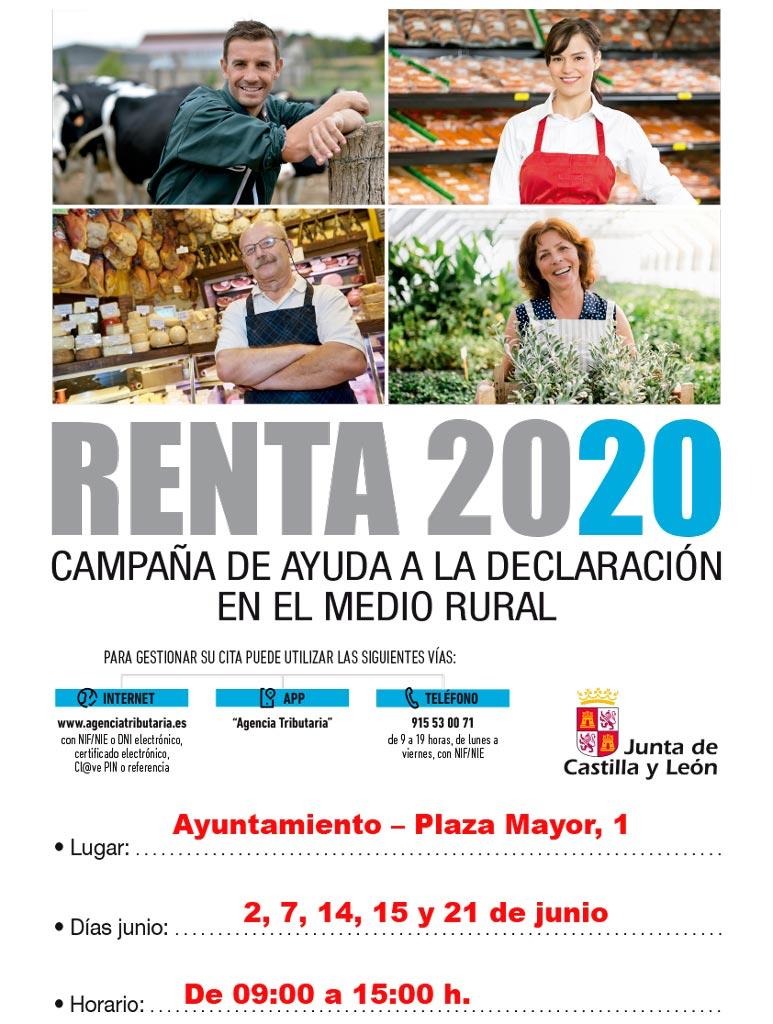 Campaña Renta 2020.