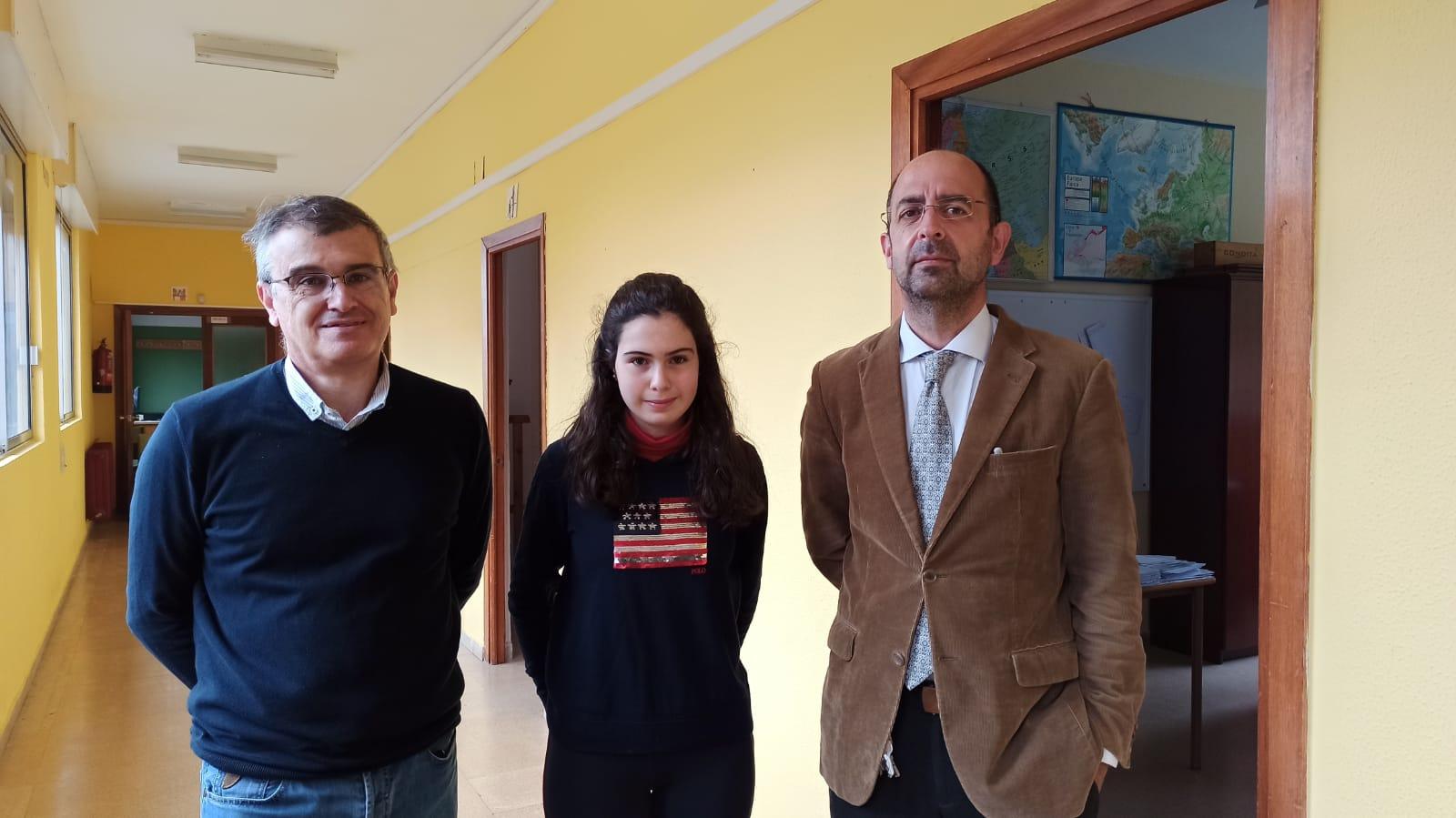 Isabel Arnáiz ganadora de la XIV Olimpiada Matemática
