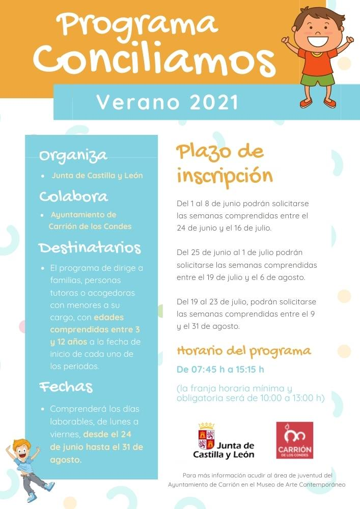 Programa Conciliamos Verano 2021