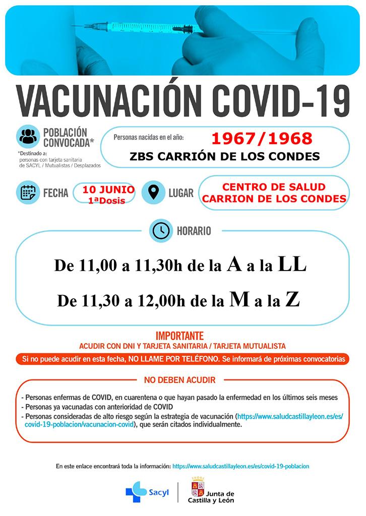 Vacunación COVID-19 | Año 1967 / 1968