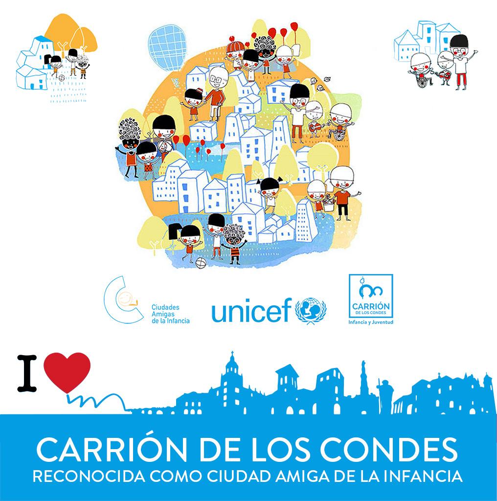 Carrión de los Condes reconocida como ciudad amiga de la infancia por UNICEF