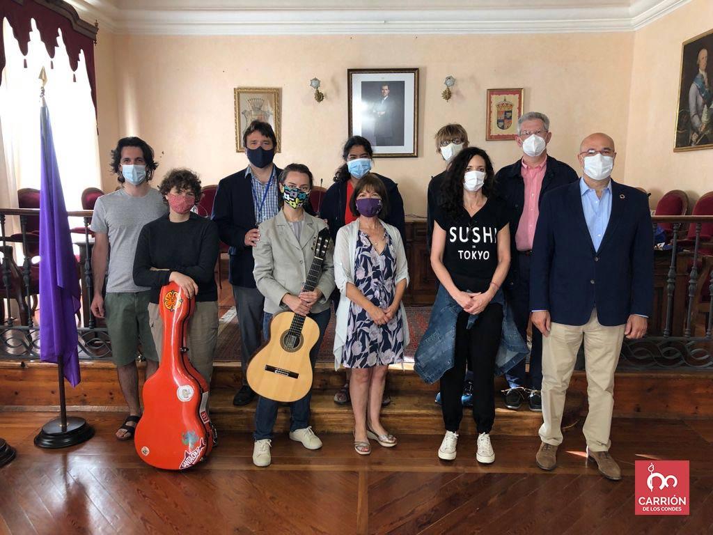 participantes del VII Curso Internacional de Guitarra