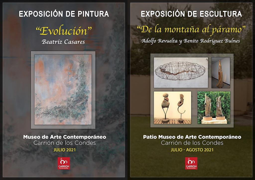 Cartel Exposiciones Julio