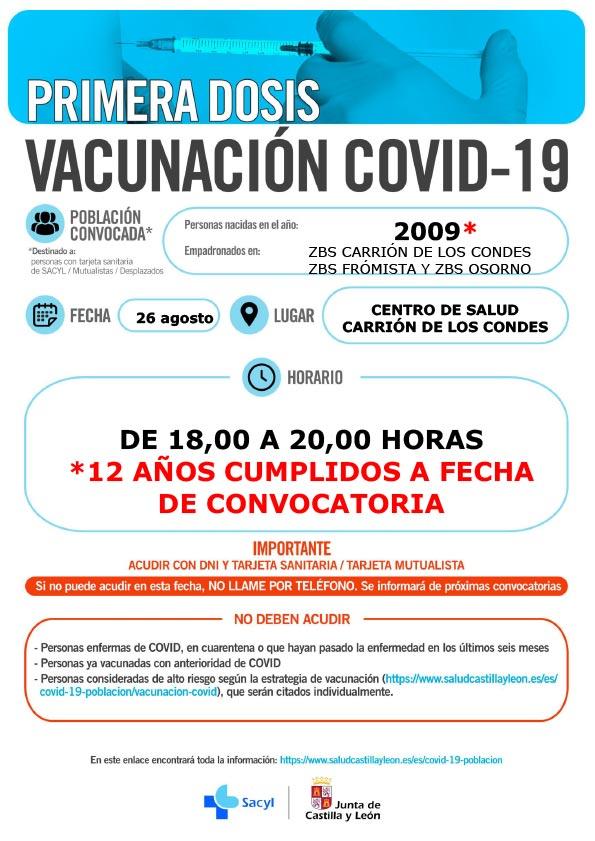 Vacunación COVID-19 | Año 2009